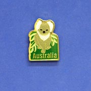 Pin Koala Leaves