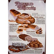 Bread & Biscuits Tea Towel