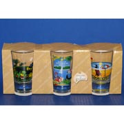 3-Pack Reef, Beach, Rainforest Shotglasses