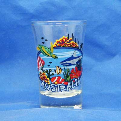 Tropical Reef Shotglass