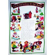 Preservation of Man Tea Towel