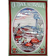 Outback Homestead Tea Towel