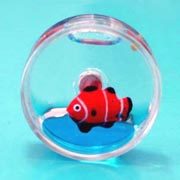 Magnet Water-Filled Round Fish