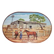 Outback Australian Sheep Placemat