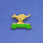 Pin Kangaroo Green