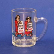 Drink is the Enemy Mini Beer Stein