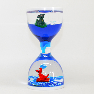 Liquid Timer with Koala and Kangaroo Floaters