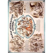 Early Miners Tea Towel