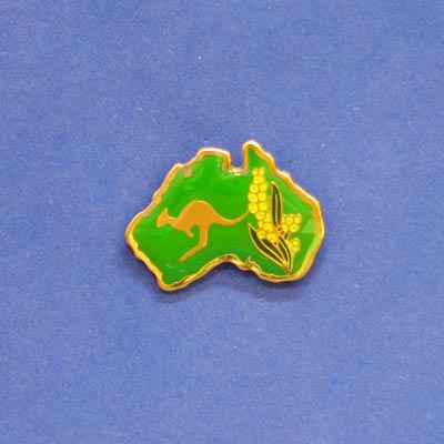 Pin Kangaroo Map