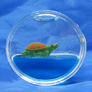ROUND MAGNET, TURTLE FLOATER