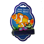 POLYRESIN MAGNET CLOWN FISH