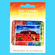 Resin Magnet Rectangle Ayers Rock