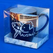 Mug - Brush Art Koala Black