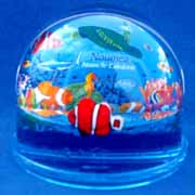 Paperweight Photo Dome Fish