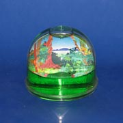 Paperweight Photo Dome Crocodile