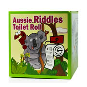 Aussie Riddles Toilet Roll