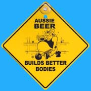Suction Roadsign Beer
