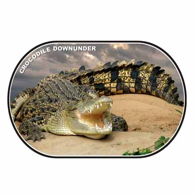 Crocodile Downunder Placemat