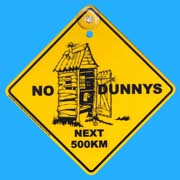 Suction Roadsign Dunny