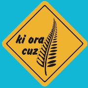 Suction Roadsign Ki Ora Cuz