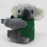 Koala Cling With Jacket, 9cm
