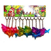 Rainbow Series - Shark Light Keyring