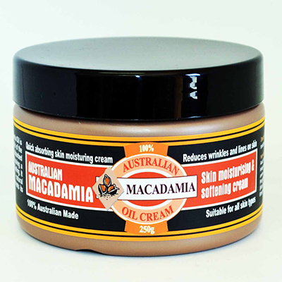 Macadamia Oil Cream, 250g Tub
