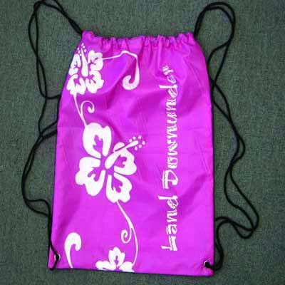 Nylon Sling Bag Hibiscus