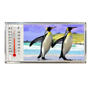 3D Thermometer Magnet Penguin