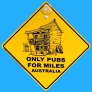 Suction Roadsign Pub
