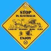 Suction Roadsign Stop in Australia