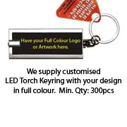 Customised LED Keyring