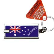 LED Keyring Flag