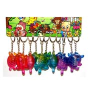 Rainbow Series - Turtle Light Keyring