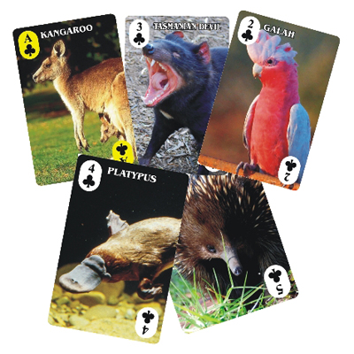 Playing Cards Australian Animals