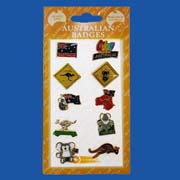 Australian Card of Pins (10 Pins/Set)