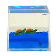 PAPERWEIGHT CUBE TURTLE