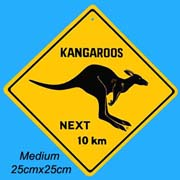Medium Roadsign Kangaroo