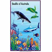 Sealife of Australia Tea Towel
